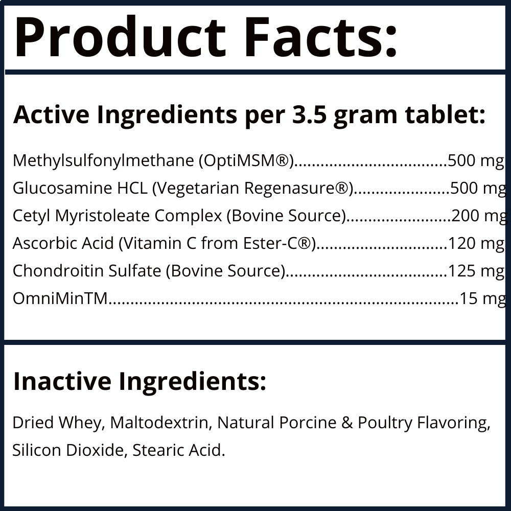 GlycanAid Maintenance Product Facts