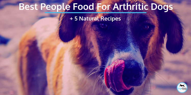 Best People Food (Yes, People Food!) for Arthritic Dogs + 5 Natural Recipes